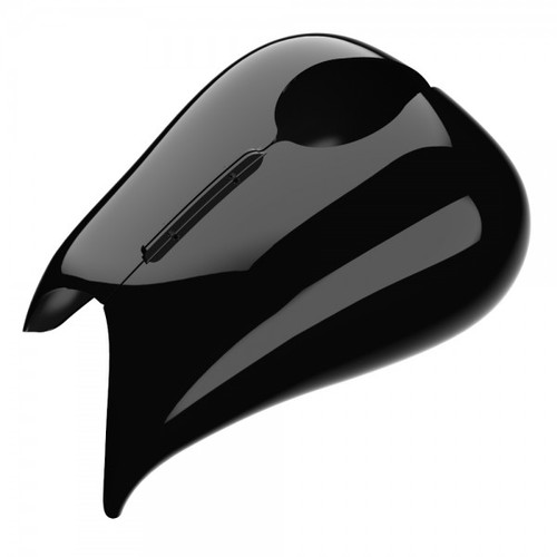 Color Matched Stretched Tank Cover for '08-20 Harley Davidson Street Glide, Road Glide
