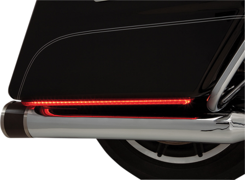 Ciro Machete​ Bag LED Lights for '17-Up Harley-Davidson Touring