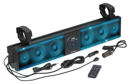 Boss Audio 500 Watt 26 inch Riot Sound Bar with RGB - 6 Speakers