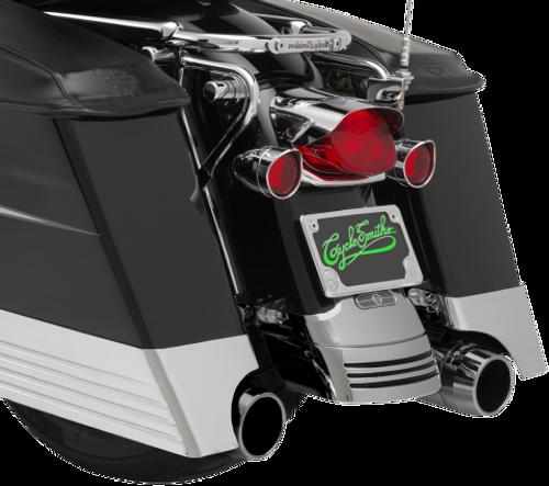 CycleSmith's Billet Saddlebag Extensions for '93-13 Harley-Davidson Touring Models
