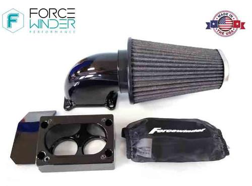 ForceWinder High Flow Air Kit for Kawasaki VN 900 Models - Polished or Gloss Black