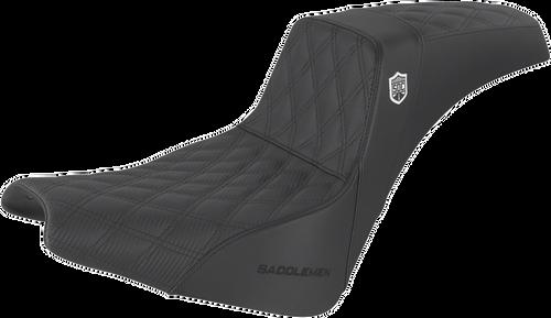 Saddlemen Pro Series SDC Performance Gripper LS Seat for '18-Up Harley Davidson Street Bob FXBB