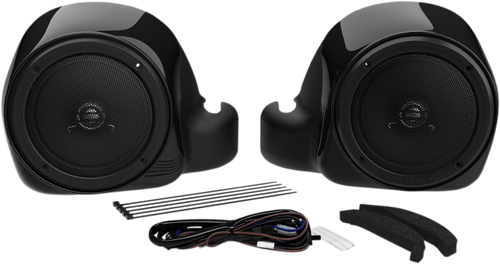 HogTunes G4 LC Lower-RM Speaker/Adaptor Kit for Liquid Cooled Lowers for '14-Up Harley Davidson Ultra Models
