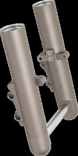 Arlen Ness Hot Legs Fork Set for '00-07 Harley Davidson Touring Standard Dual-Disc - Titanium