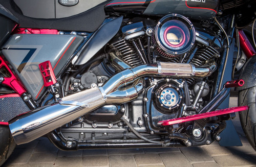 Trask Big Sexy Performance Exhaust for '17-Up Harley Davidson Touring Models - Select Finish
