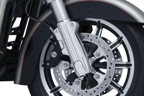 Kuryakyn Lower Fork Covers for '14-20 Harley Davidson Touring - Chrome or Black