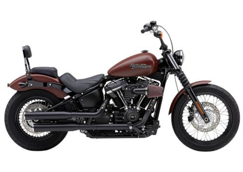 Cobra 3 inch RPT Slip On Mufflers for '18-Up Harley Davidson FLHC, FLDE Models - Black