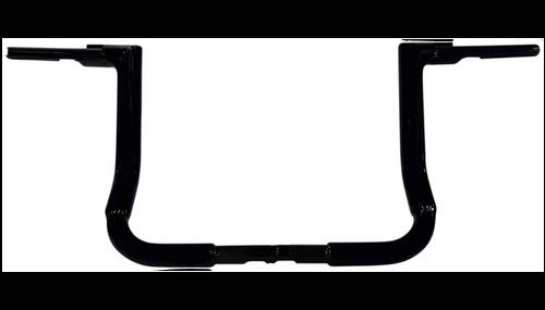 Fatbaggers 1.5 inch Flat Top EZ Install Handlebars for '14-Up FLH Models