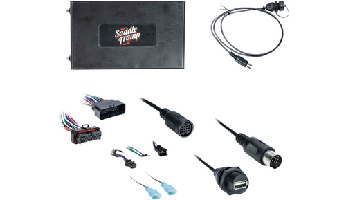Saddle Tramp Radio Blue Tooth Kit for '06-13 Harley Davidson FLHT/FLHX/FLTRK