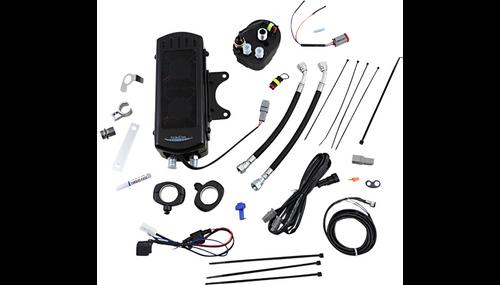UltraCool Oil Cooler Kits for '09-16 Harley Davidson FLHT/FLHR/FLHX/FLTR Models - Chrome or Black