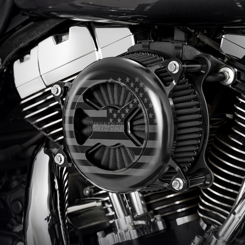 Vance & Hines Limited Edition VO2 America Air Cleaner Kit '08-16 Harley Davidson Touring (TBW Only)