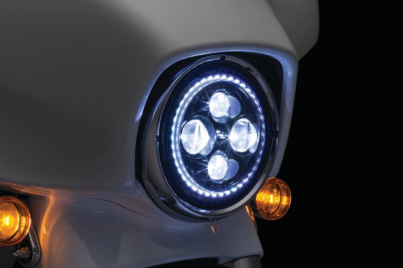 Kuryakyn Orbit Vision 7 LED Headlight