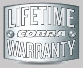 These Pipes Feature Cobra's Limited Lifetime Warranty