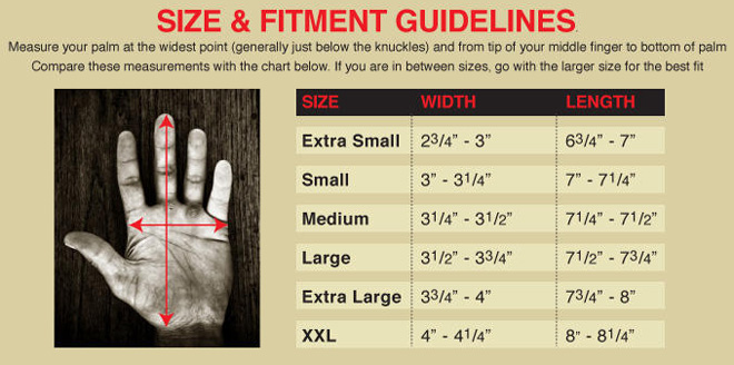 biltwell size and fitment guidelines