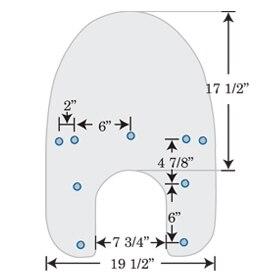 Stock/OEM Hole Measurements