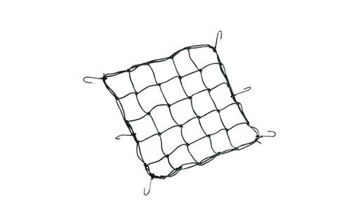 Drag Specialties Cargo Net with Vinyl Coated Metal Hooks