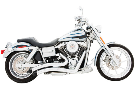 Freedom Performance Exhaust Sharp Curve Radius for Dyna