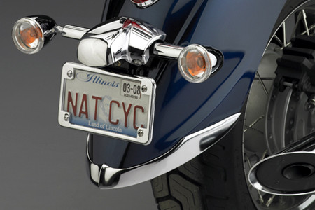 National Cycle Cast Front Fender Tip Set for 06-10 Kawasaki VN900D