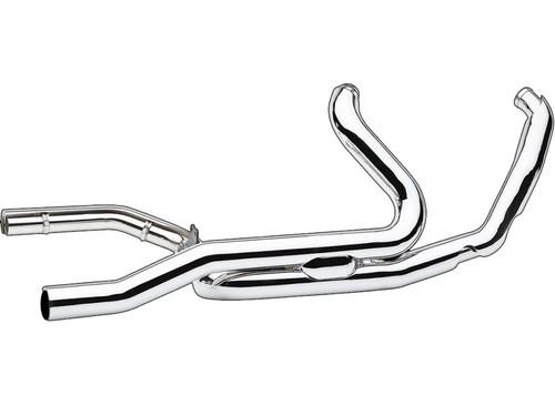 Cobra Headpipes for Harley Davidson '17-Up Trike- Chrome