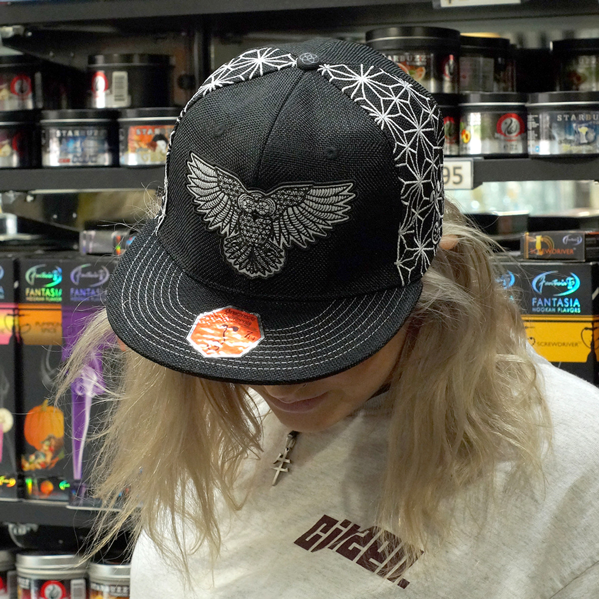 Strix Grassroots Silver Fitted Hat 2