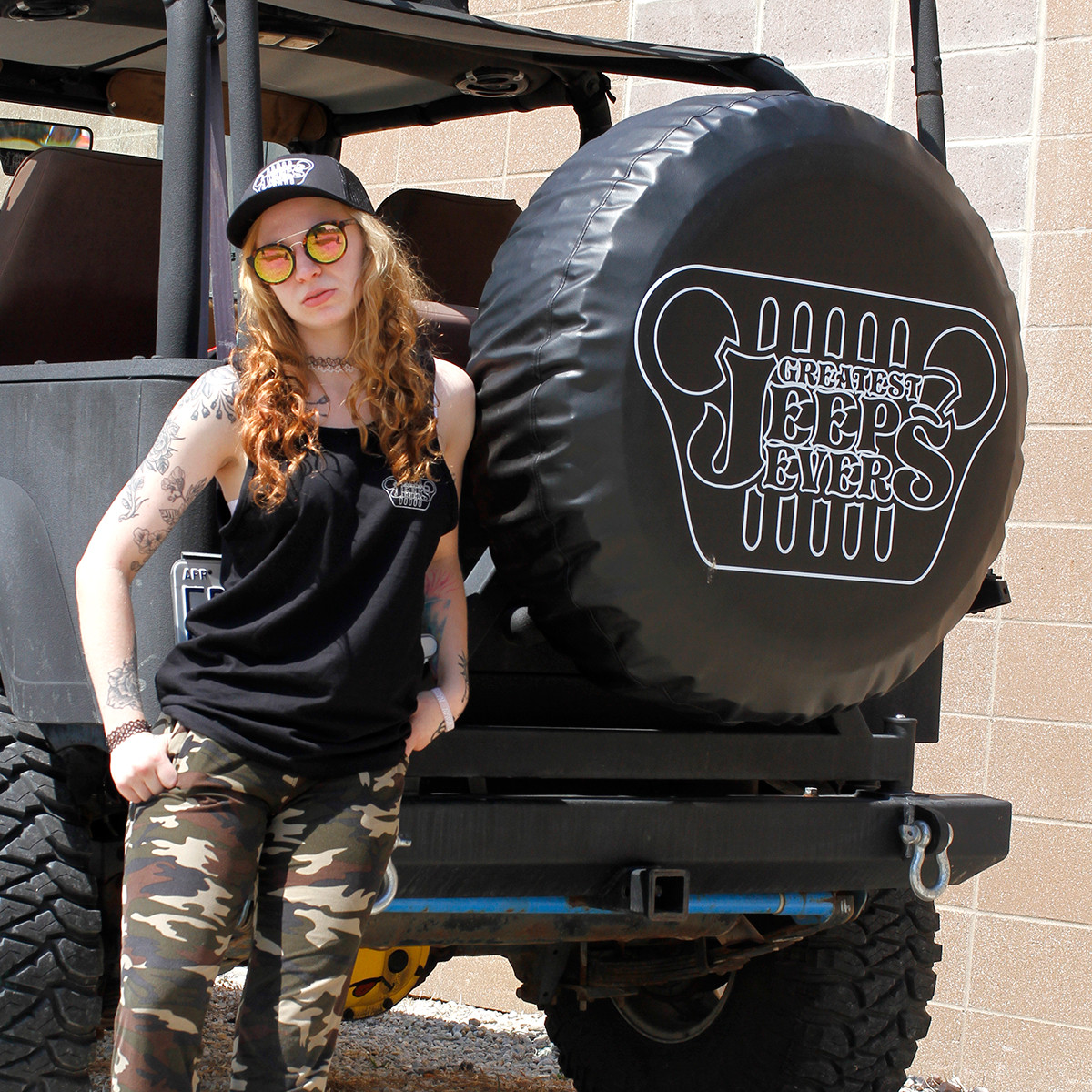 Greatest Jeeps Ever Tire Cover