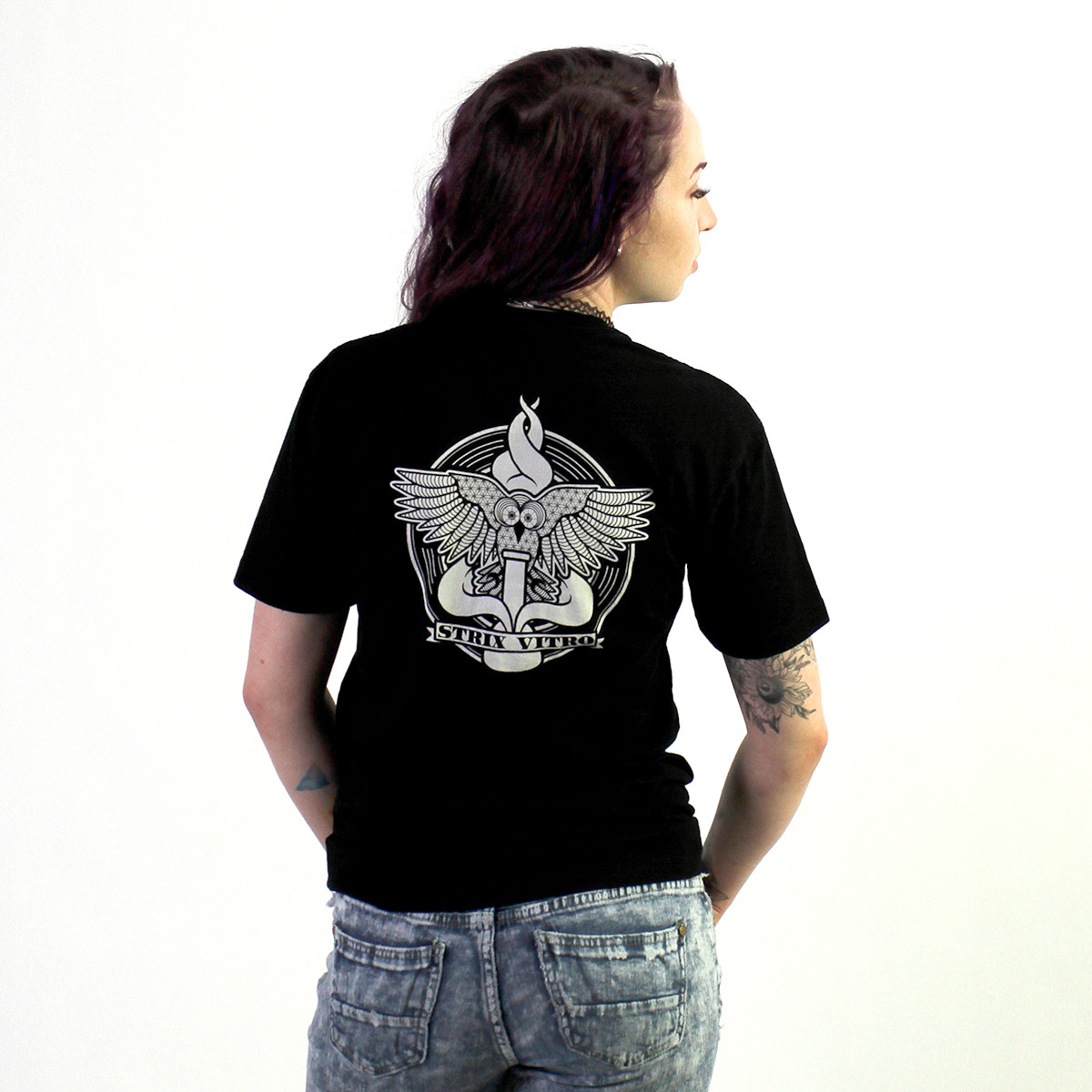 Black Strix Medicinal Tee