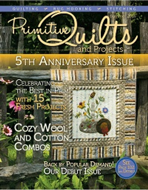 Summer 2016 Primitive Quilts and Projects