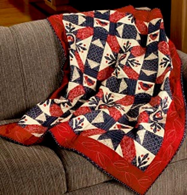Homespun Nest quilt pattern Kathy Schmitz