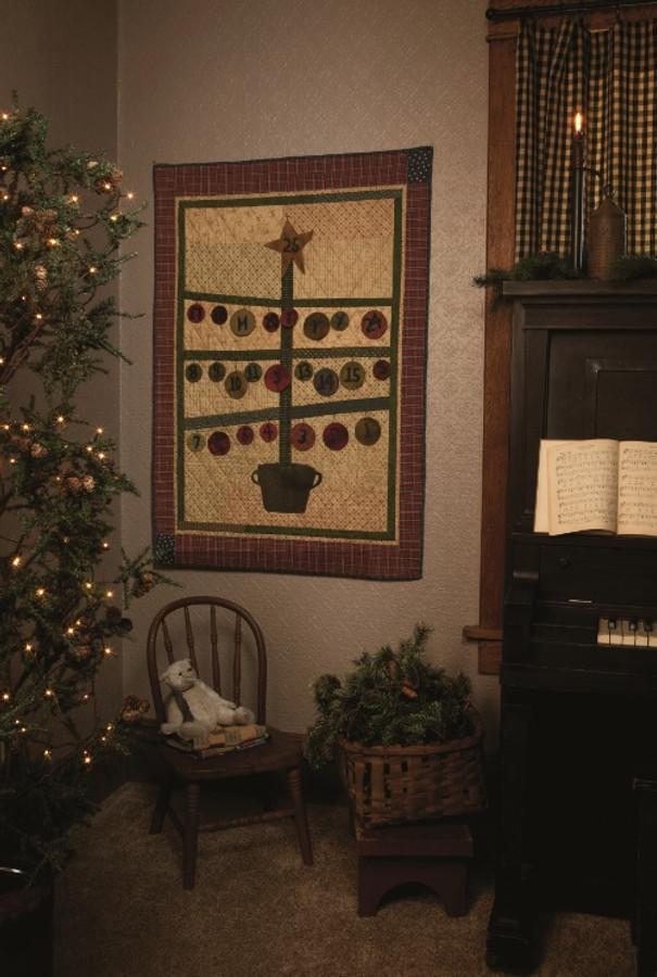 Advent Tree by Lynda Hall