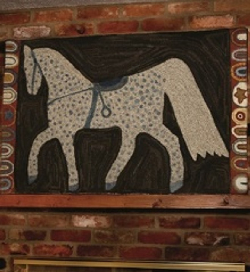 Polly Minick Stoneware Horse