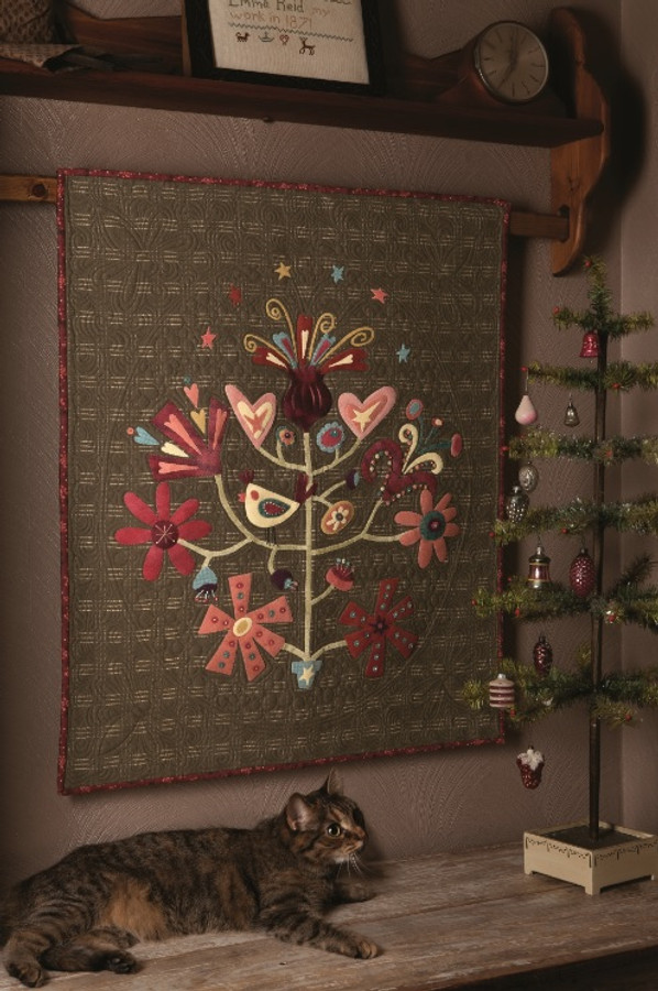 Bird in Paradise by Buggy Barn Quilts