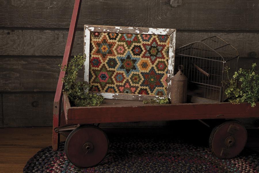 Stars in the Garden by Yellow Creek Quilt Design