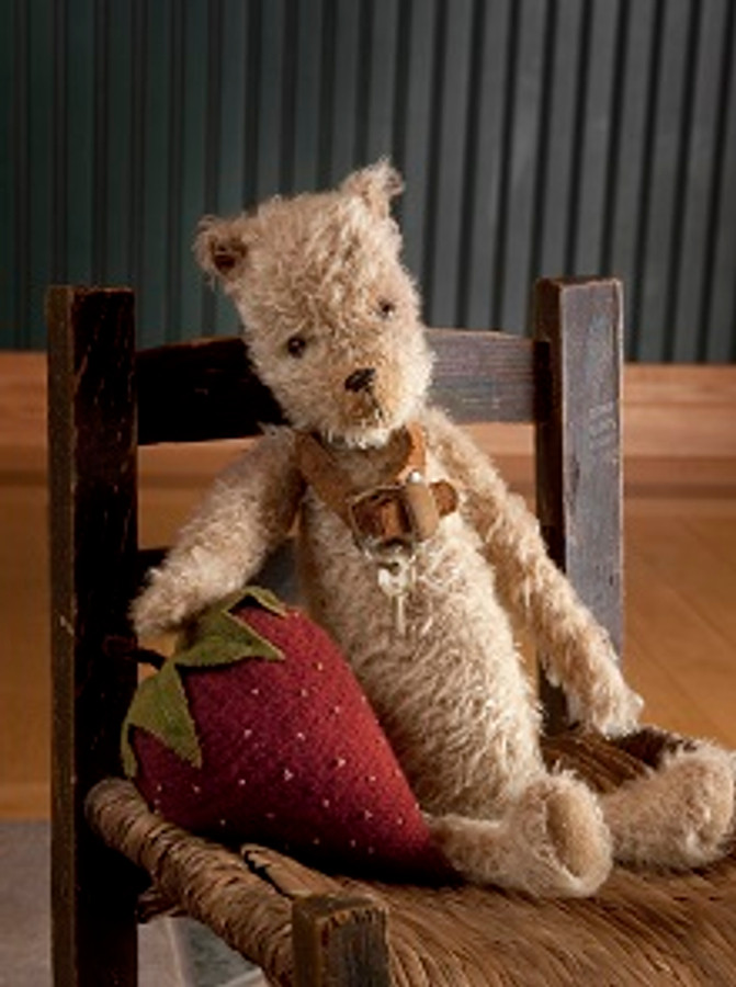 Beezly Bear Mohair Bear Heather Lynn Mohair doll pattern