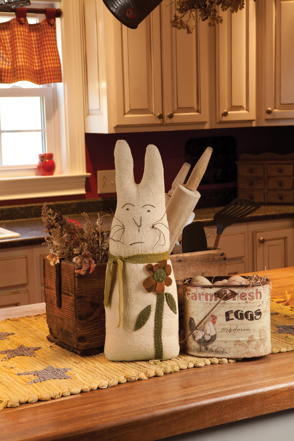 Prim Bunny by Janice Minear