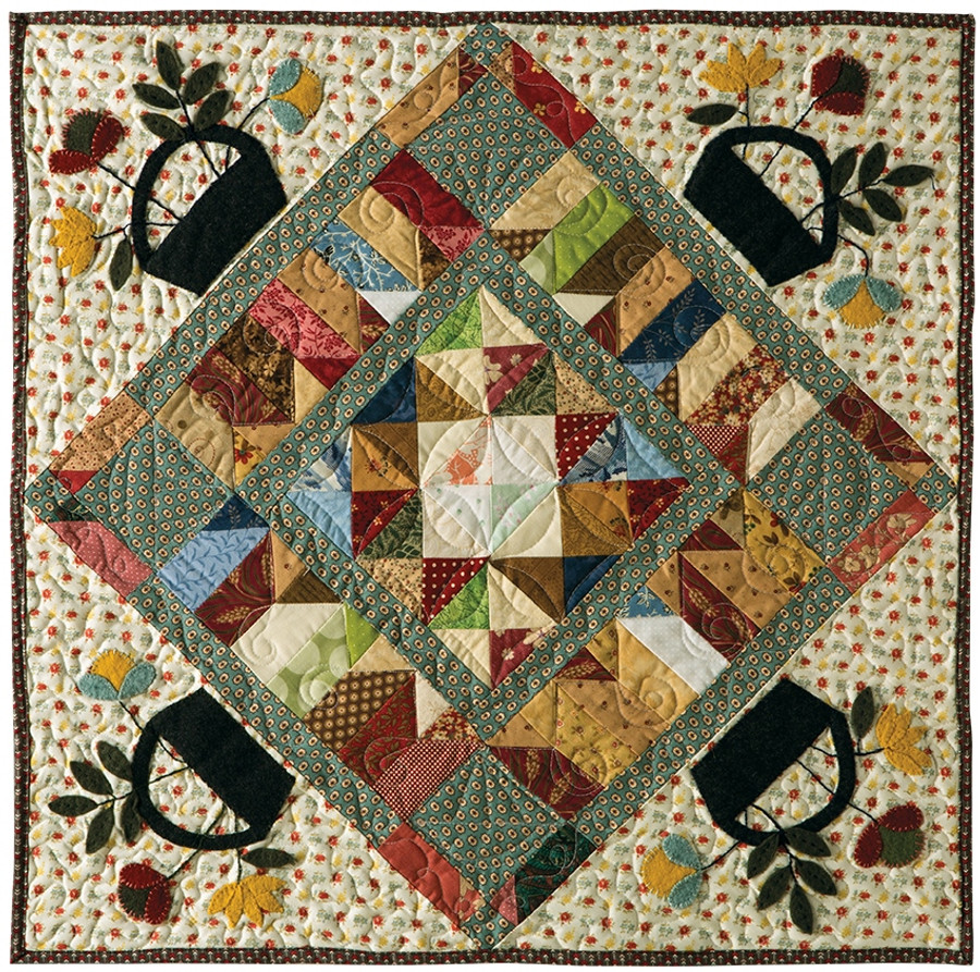 Garden Walk By Becky Jorgensen Primitive Quilts And Projects