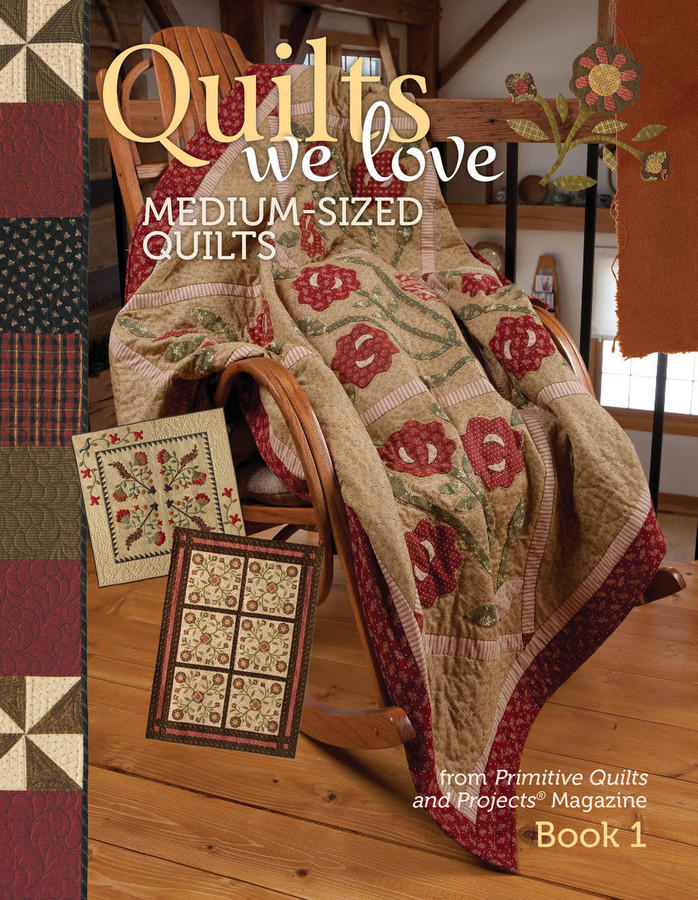 Quilts We Love eBook - Medium Size Quilts