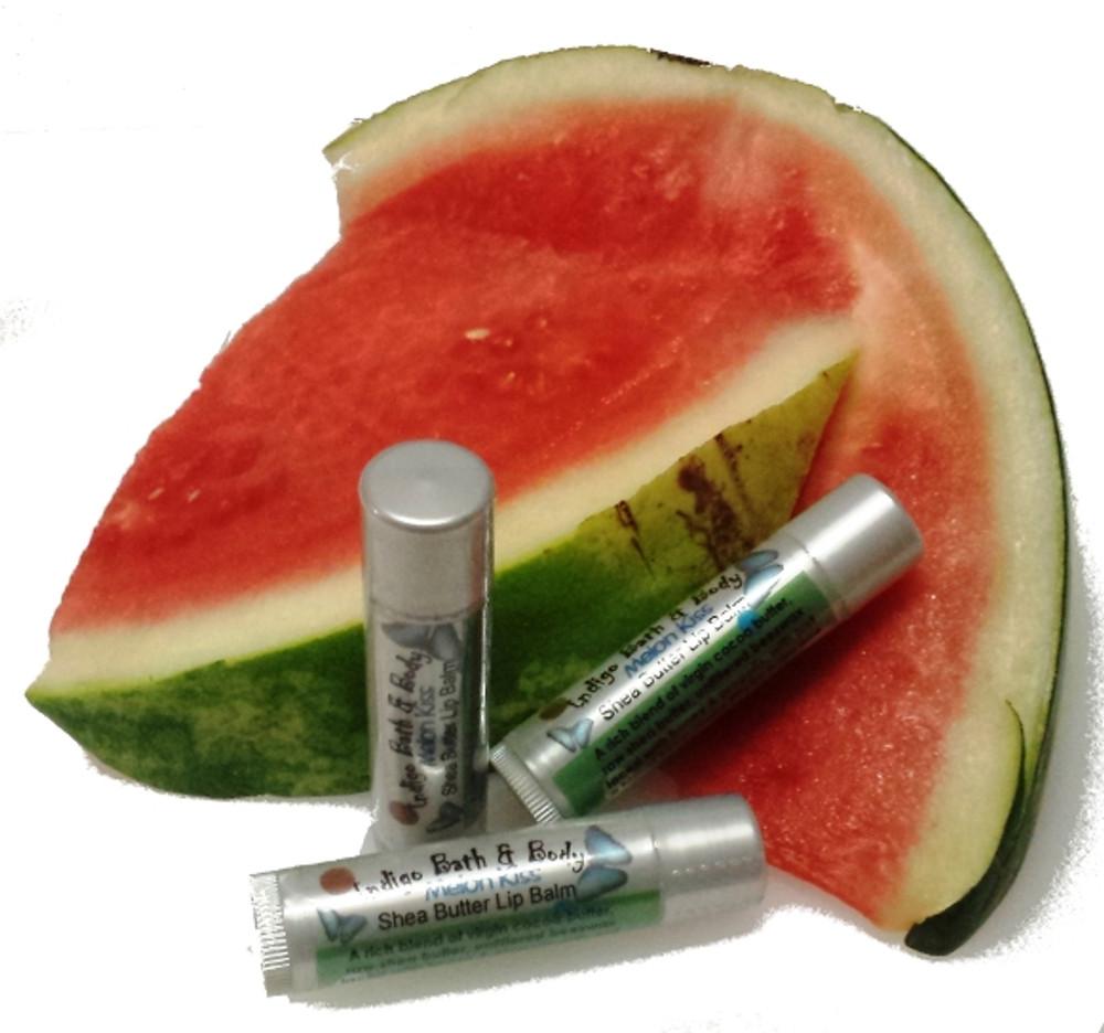 Shea Butter Kisses Lip Balm - Melon