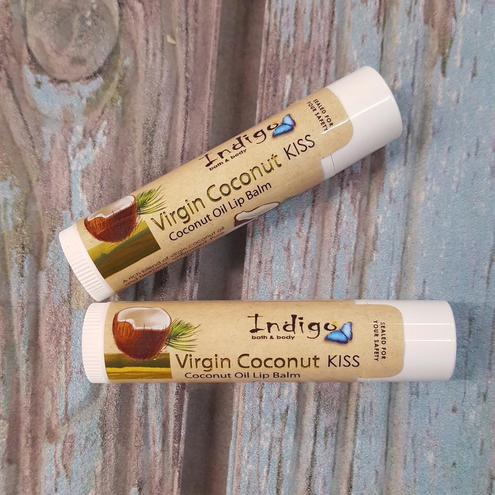 Virgin Coconut  Lip Balm - (VCO) - unflavored