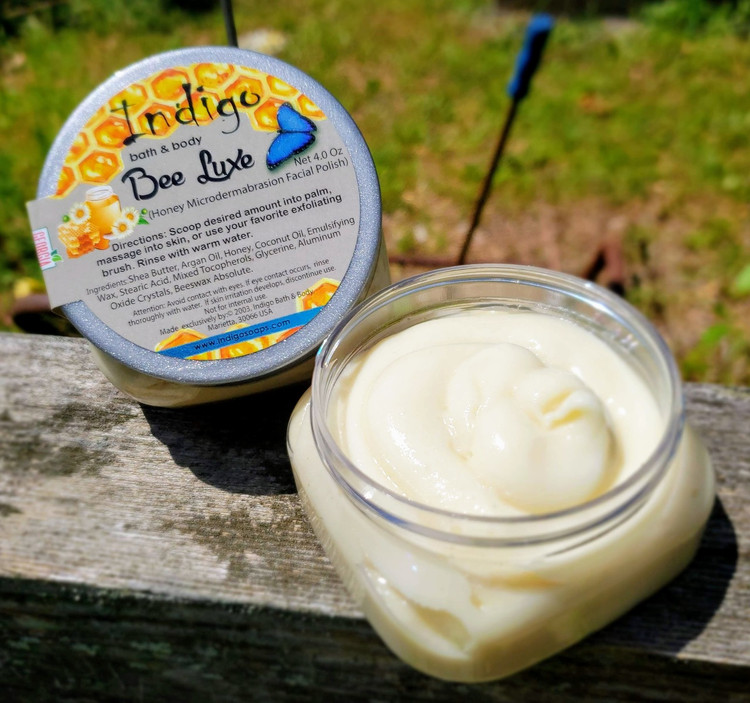 Bee Luxe Honey Microdermabrasion Facial Polish