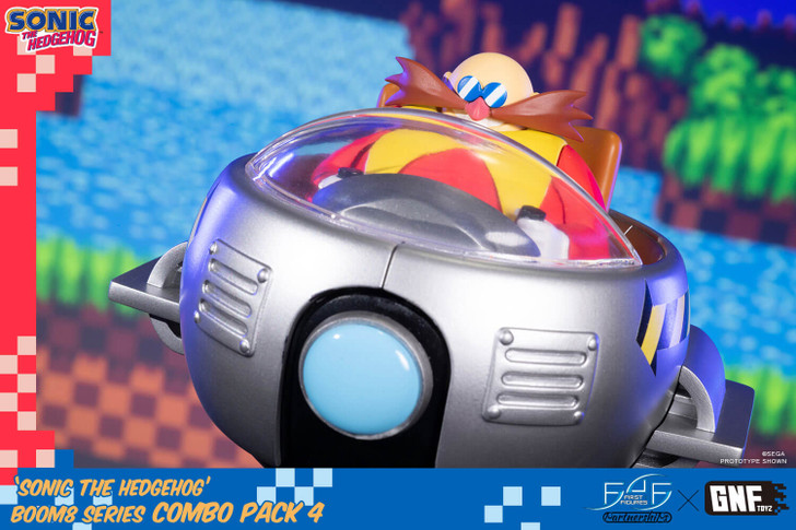 First 4 Figures Dr. Eggman Sonic the Hedgehog Statue