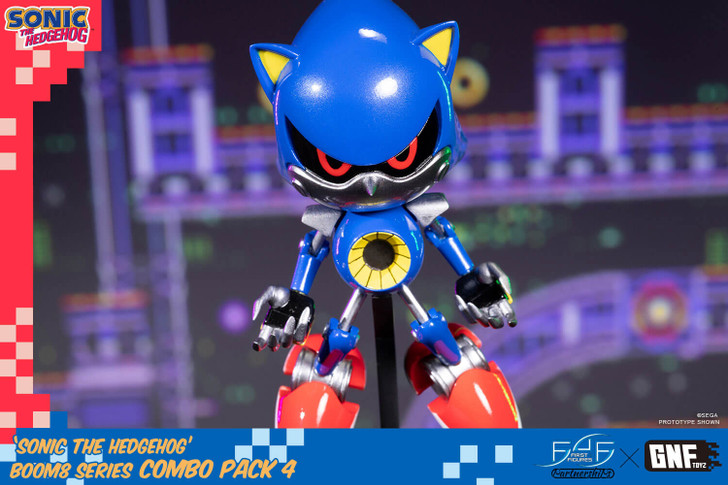 First 4 Figures Metal Sonic the Hedgehog Statue