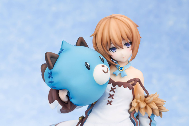 Broccoli Blanc Wake Up Ver. Hyperdimension Neptunia 1/8 Scale Figure
