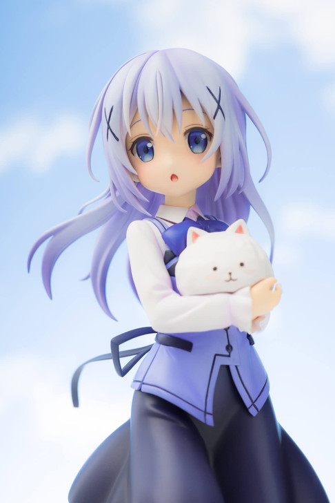 PLUM Chino (Cafe Style) Is the Order a Rabbit? 1/7 Scale Figure