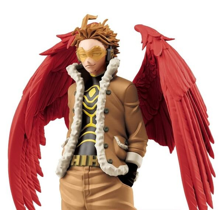 "Banpresto Hawks Ver. A ""Hawks & Red Riot"" My Hero Academia Age Of Heroes Prize Figure"