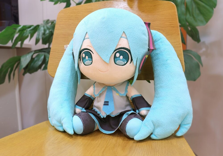 Taito Hatsune Miku Big Plush
