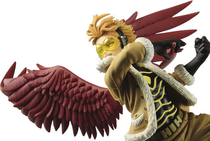 Banpresto Hawks The Amazing Heroes Vol. 12 My Hero Academia Prize Figure