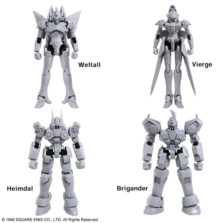 Square Enix Xenogears Structure Arts Vol. 1 1/144 Scale Model Kit