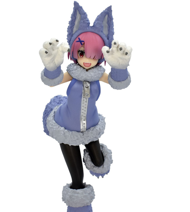 FuRyu Ram The Wolf and the Seven Ver. Re:Zero Starting Life in Another World SSS Prize Figure