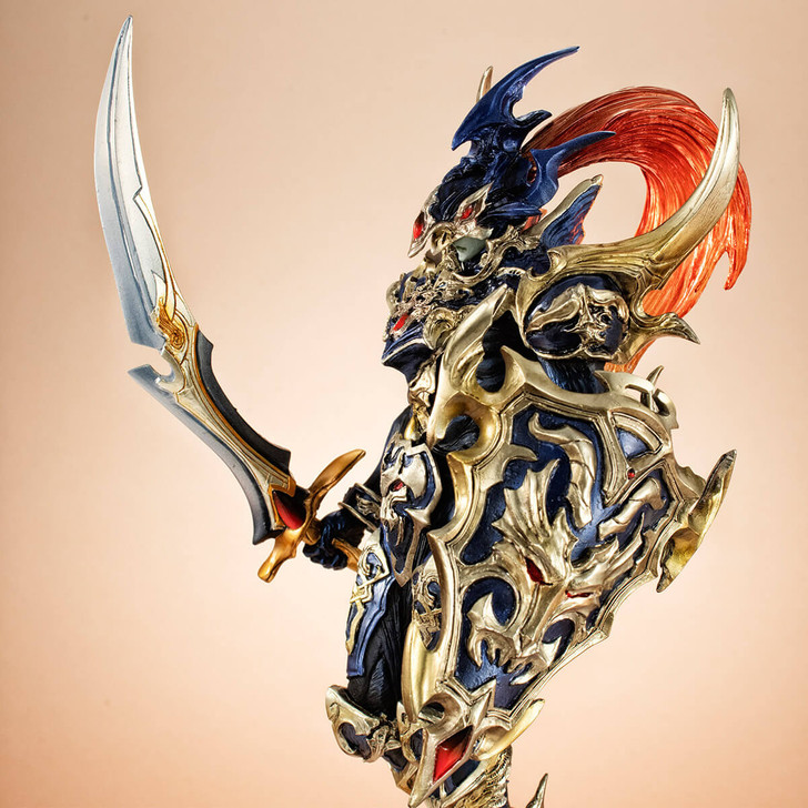 MegaHouse Black Luster Soldier Art Works Monsters Recolored Ver. Yu-Gi-Oh Duel Monsters Figure
