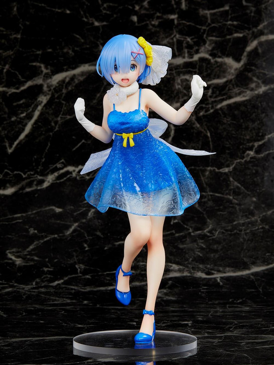 Taito Rem Clear Dress Ver. Re:Zero Starting Life in Another World Prize Figure